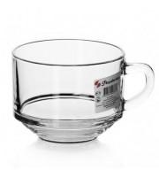 Супница-кружка Pasabahce Шефс стеклянная прозрачная 625 мл (артикул производителя 55303SLBT)