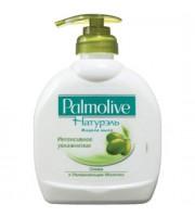 Мыло жидкое с дозатором PALMOLIVE Олива+увлажняющее молочко, 300мл
