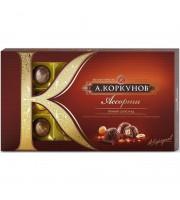 Шоколадные конфеты А.Коркунов ассорти темного шоколада 192 г