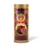 Конфеты шоколадные Кремлина Матрешка Хохлома Чернослив шоколадный с грецким орехом 250 г