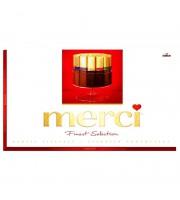 Шоколадные конфеты Merci ассорти 400 г
