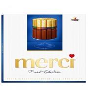 Шоколадные конфеты Merci ассорти молочный шоколад 250 г