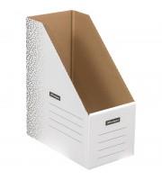 """Накопитель-лоток архивный из микрогофрокартона OfficeSpace """"Standard"""" плотный, 150мм, белый, 1400л."""