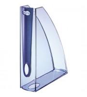Накопитель вертикальный 70мм LEITZ Allura, голубой прозрачный