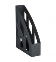 Накопитель вертикальный 75мм ERICH KRAUSE Basic, черный