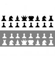 Фигуры шахматные магнитные для демонстрационных шахмат