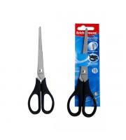 Ножницы 190мм ERICH KRAUSE Standard, симметричные ручки, пластик, черный
