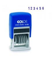 Мини-нумератор ручной Colop S126 6-разрядный