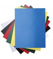 Обложка для переплета А4, картон глянц., 100шт, белый