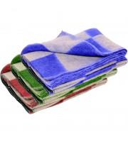 Одеяло 1,5-сп 70% Шуя с105 ИЛШ клетка (шерсть-70, хим.вол.30)