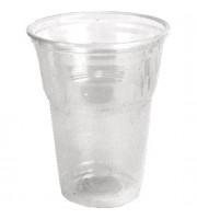 Стакан 200мл для горячих напитков, пластик, 100шт., прозрачный
