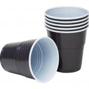 Стакан одноразовый Upax unity пластиковый для вендинговых аппаратов коричневый/белый 155 мл 50 штук в упаковке