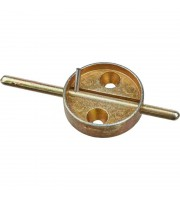 Плашка дюралевая со штоком диаметр 29 мм