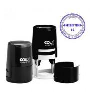 Оснастка для круглой печати COLOP, d=40мм, крышка, черный