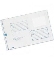 Пакет почтовый 280х380мм, стрип, 1шт, 3-х сл.п/э