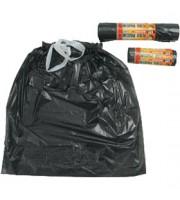 Пакет мусорный 120л, 10шт., ручки-завязки