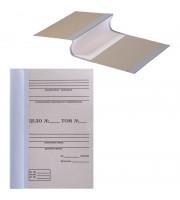 Папка архивная для переплета OfficeSpace,100мм, без клапанов, переплетный картон, корешок - бумвинил
