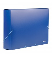 Папка-короб на резинке Berlingo А4, 50мм, 700мкм, синяя