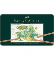 "Пастельные карандаши Faber-Castell ""Pitt Pastel"" 36цв., метал. коробка"