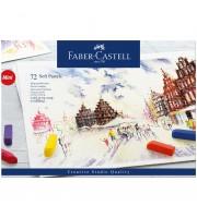 """Пастель Faber-Castell """"Soft pastels"""", 72 цв., мини, картон. упак."""