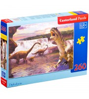 """Пазл 260 эл. Castorlаnd MIDI """"Динозавры 2"""""""
