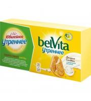 Печенье песочное Юбилейное BelVita Утреннее сэндвич со злаками и йогуртом 253 г