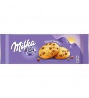 Печенье сдобное Milka с кусочками молочного шоколада 168 г