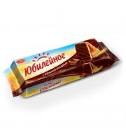 Печенье песочное Юбилейное с шоколадной глазурью 116 г