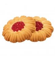 Печенье сдобное Курабье с вишневым джемом 4кг