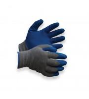 Перчатки защитные София Фрост утепленные серые/голубые размер 8