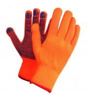 Перчатки зимние акриловые, с ПВХ-покрытием
