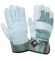 Перчатки ДИГГЕР спилковые комбинированные (Размер 10,5)