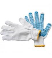 Перчатки хлопчато-бумажные с ПВХ