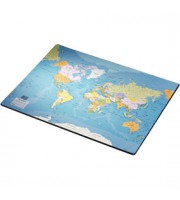 Подкладка для письма 53х40см ESSELTE Карта мира