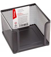 """Подставка для бумажного блока Berlingo """"Steel&Style"""", металлическая, черная"""