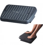 Подставка для ног FELLOWES Standard, массажная, 2-х позиционная, черный