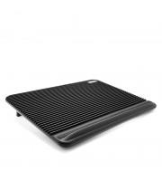 Подставка для ноутбука CROWN CMLC-1101 black (17 /2 вент)