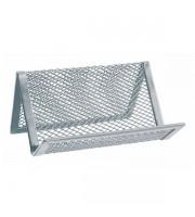 Подставка для визитных карточек ERICH KRAUSE Steel, металл, серебро