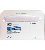 Покрытия для унитаза TORK Advanced, бумажные, одноразовые, 250 шт