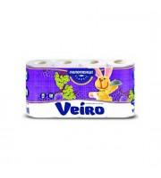 Полотенца бумажные VEIRO Classic 2х-сл., 4 рул., белый