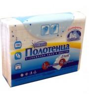 Полотенца бумажные для держателя Z-сложение 2х-сл., 190л., белый