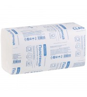 Полотенца бумажные лист. OfficeClean Professional ZZ(V) (H3) 1 слойн., 250л/пач, 23*23см, белые