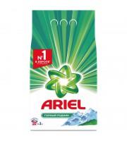 Порошок стиральный автомат Ariel Горный родник для белого белья 3 кг
