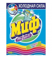 Порошок стиральный автомат Миф Свежий цвет для цветного белья 400 г