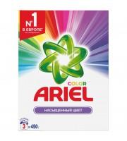 Порошок стиральный автомат Ariel Color для цветного белья 450 г