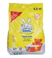 Порошок стиральный универсальный Ушастый Нянь для детского белья 4.5 кг
