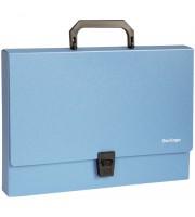 """Папка-портфель 1 отделение Berlingo """"Standard"""", A4, 325*230*35мм, 1000мкм, синяя"""