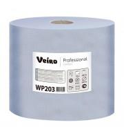 Протирочный материал в рулонах Veiro WP203 двухслойный синий (6 рулонов по 500 листов)