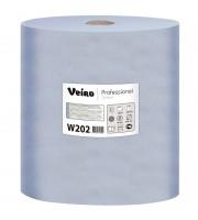 Протирочный материал в рулонах Veiro W202 двухслойный синий (2 рулона по 1000 листов)