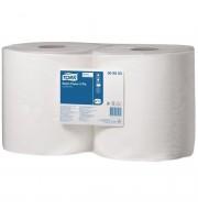 Протирочная бумага в рулонах Tork W1/W2 2-слойная (белая, 2 рулона по 264 метра)